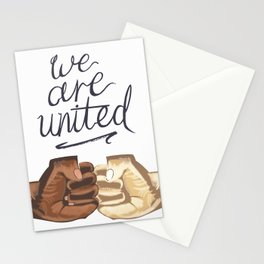 We Are United Stationery Cards