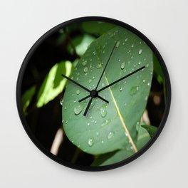 Little Droplets Wall Clock