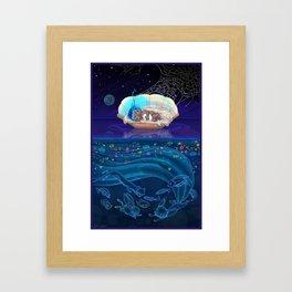 Sleeping Creativity (commission) Framed Art Print