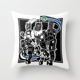 Pony Parade (Male) Throw Pillow