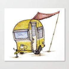 Tiny Camper Canvas Print