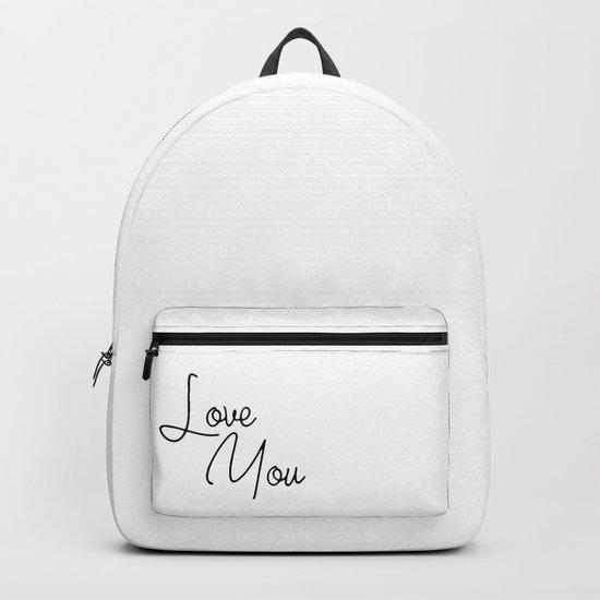 Love You Backpack