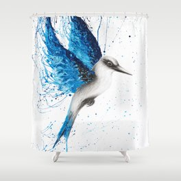 Aussie Blue Shower Curtain
