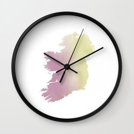 Ireland Watercolour Wall Clock