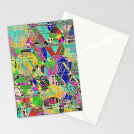 Impossible weave Stationery Cards