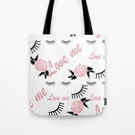 Love me 3 Tote Bag