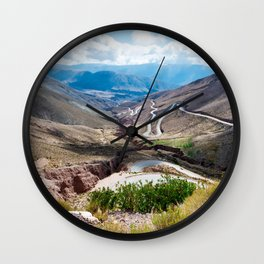 Crack in the Earth Wall Clock