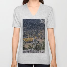 Gold in the Valley Unisex V-Neck