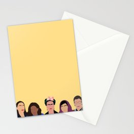 Feminist Squad Yellow Stationery Cards