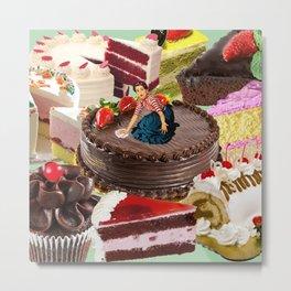 The Cake Factory Metal Print