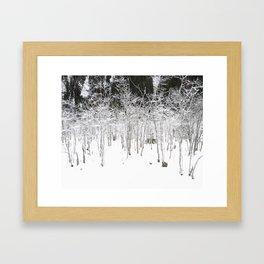 Snow Tales #2 Framed Art Print