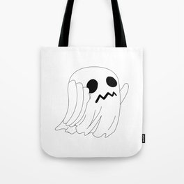 Run Little Ghost Tote Bag