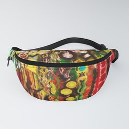 George Plath Abstract Art Fanny Pack