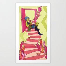 stop & rest Art Print