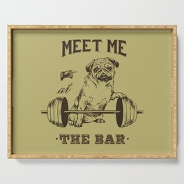 MEET ME AT THE BAR Serving Tray