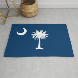 State flag of South Carolina - Authentic version Rug