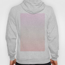 Pastel Millennial Pink Beige Ombre Gradient Pattern Hoody
