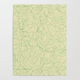 """William Morris """"Acanthus Scroll"""" 5. Poster"""