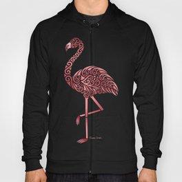 Funky Tribal Flamingo Hoody