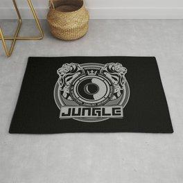 King Of The Jungle - Junglist Movement Worldwide Rug