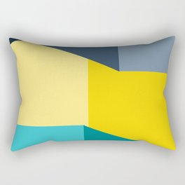 Almost Perfect- Simple Shapes Rectangular Pillow