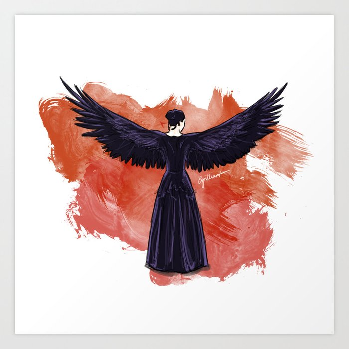 Mockingjay Art Print