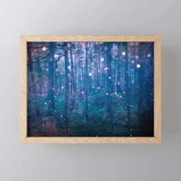 Fairy Lights Framed Mini Art Print