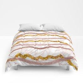 Glitter Lines Comforters