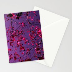 autumn tree abstract III Stationery Cards