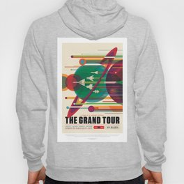 Grand Tour - NASA Space Travel Poster Hoody