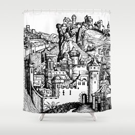 Folio 283v Shower Curtain