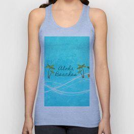 Aloha Beaches Unisex Tank Top