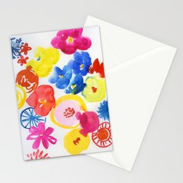 simply flowers Stationery Cards