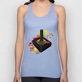 Retro Joystick Unisex Tank Top