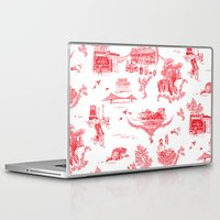 montreal Laptop & iPad Skins featuring Montreal Scenic by Audrey Fortin