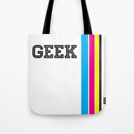 Design Geek (CMYK) Tote Bag