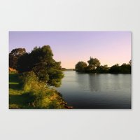 twilight Canvas Prints featuring Twilight  by Chris' Landscape Images & Designs