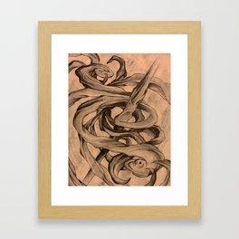 The Pull of Stars Framed Art Print