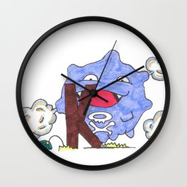 K is for Koffing Wall Clock