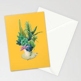 Arid garden Stationery Cards