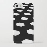hexagon iPhone & iPod Cases featuring hexagon. by JulleK