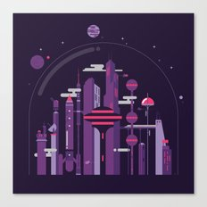 World of Tomorrow Canvas Print