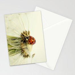 Dandelion Ladybugs Stationery Cards
