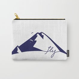Fly Mountains Carry-All Pouch