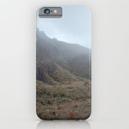 Halla-Mountain, Autumn in Yeongsil Valley , Jeju Island, Korea. iPhone Case
