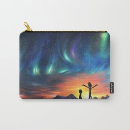 Northern Lights, Sunset, Sci Fi, Comedy, painting Carry-All Pouch