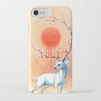 spirit iPhone & iPod Cases featuring Spring Spirit by Freeminds