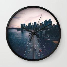 The New York City Skyline Wall Clock