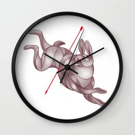 By a Hare Wall Clock
