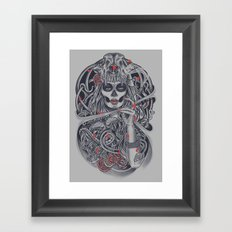 Madame Death Framed Art Print